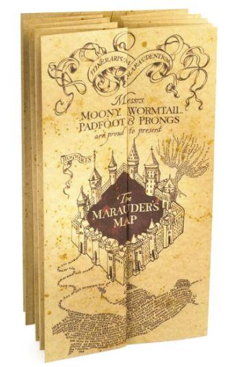 Harry Potter Marauder's karta filmreplica