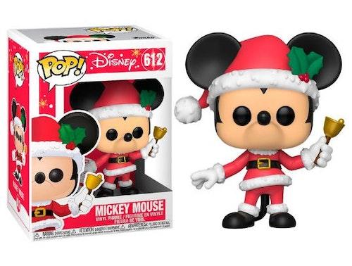 POP figur Disney Musse Pigg i julkostym