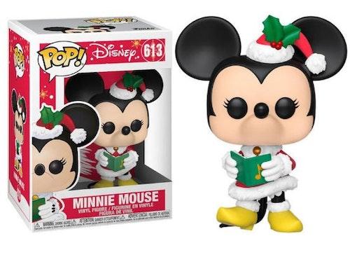 POP figur Disney Mimmi Pigg i julkostym