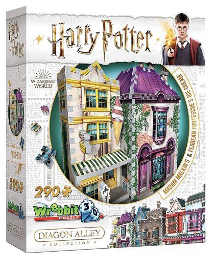 Harry Potter Madame Malkins & Florean Fortecsue's Ice Cream shop 3D puzzle