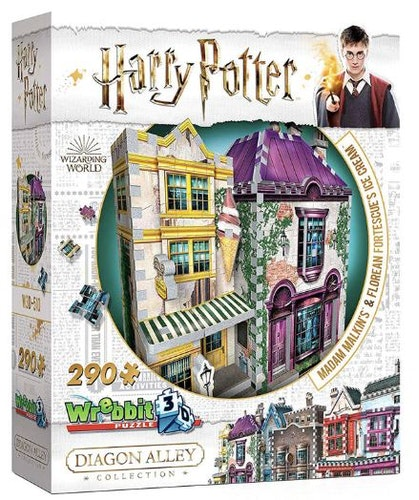 Harry Potter Madame Malkins & Florean Fortecsue's Ice Cream shop 3D puzzle