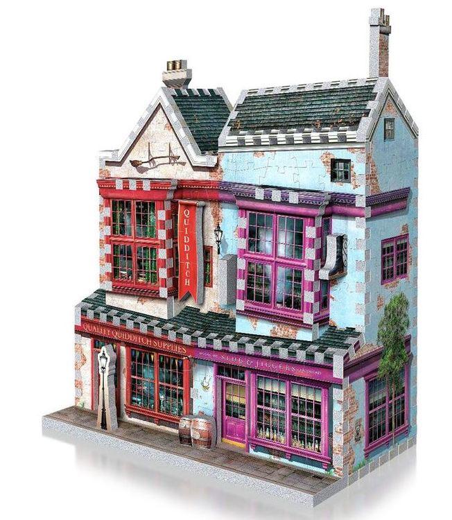 Harry Potter Quidditch Supplies Slugg & Jiggers 3D puzzle