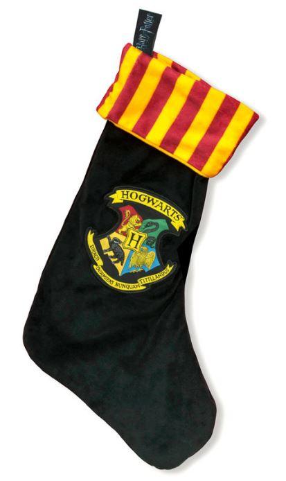 Julstrumpa Harry Potter Skolhusens emblem