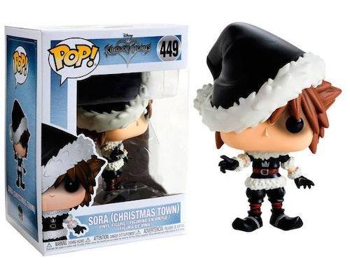 POP figur Disney Kingdom Hearts Christmas town Sora Begränsad upplaga