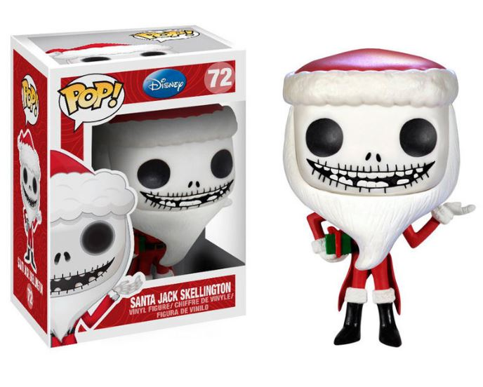 POP figur Disney The Nightmare Before Christmas Tomte Jack Skellington