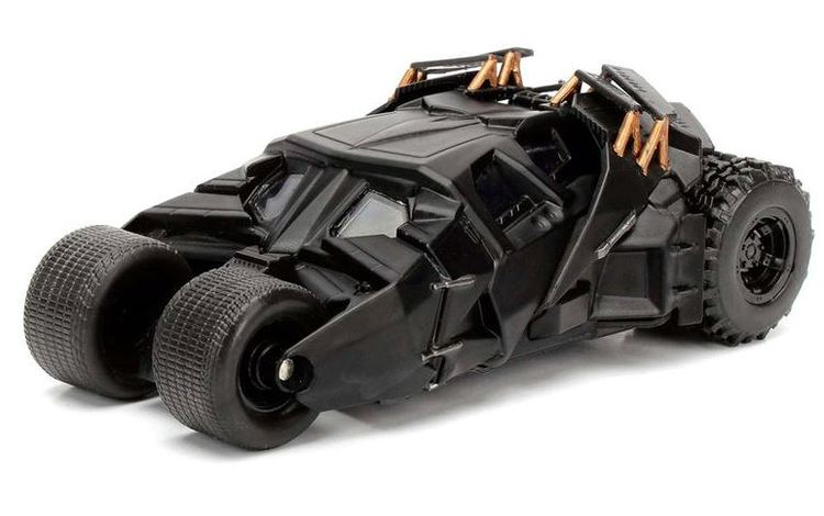 DC Comics Batman The Dark Knight Batmovil 2008 metal car