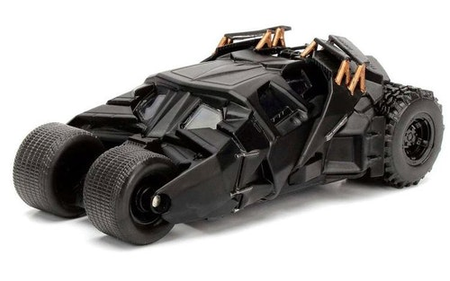 DC Comics Batman The Dark Knight Batmovil 2008 metal car