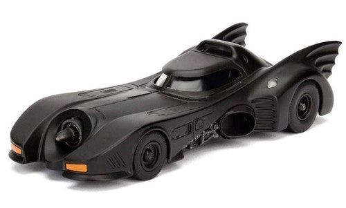 DC Comics Batman Batmovil 1989 metal car