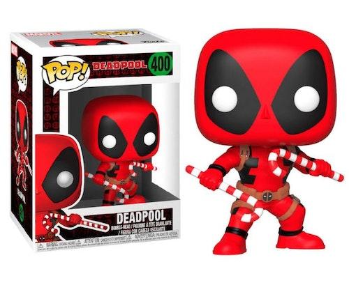 POP figur Deadpool med Polkagrisstänger