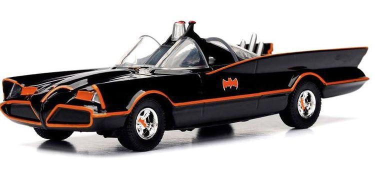 DC Comics Batman Classic TV Batmovil 1966 metal car