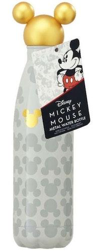 Disney Musse Pigg Guld metallvattenflaska