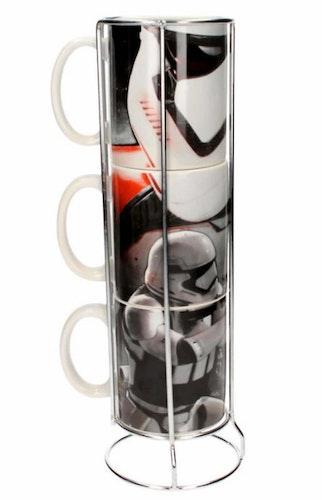 Porslinsmugg Star Wars Stormtrooper staplingsbara 3-pack