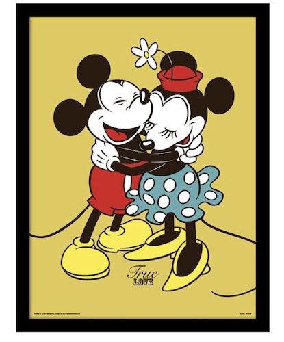 Disney Musse Mimmi kärlek framed