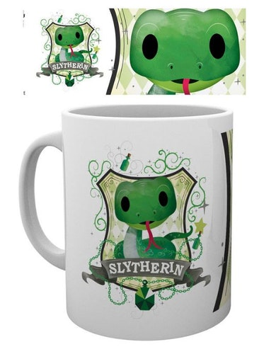 Keramik mugg Harry Potter Slytherin
