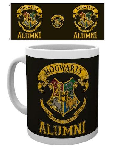 Keramik mugg Harry Potter Hogwarts Emblem