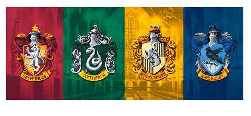 Keramik mugg Harry Potter Alla sköldar