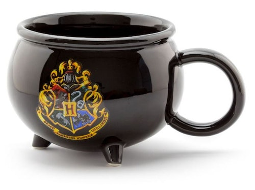 Mugg Harry Potter Kittel 3D alla husens emblem