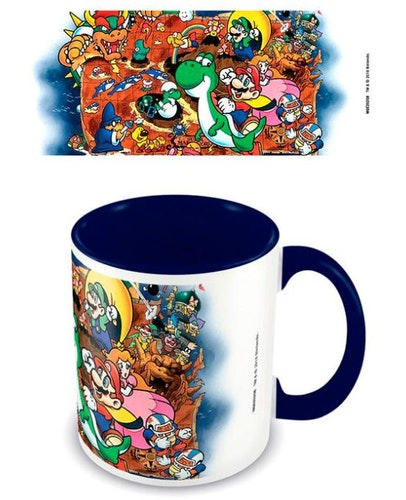 Keramikmugg Nintendo Super Mario World