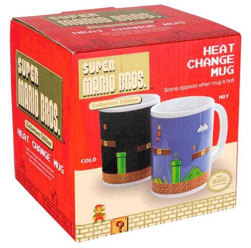 Keramikmugg Nintendo Super Mario Bros mugg som ändrar färg