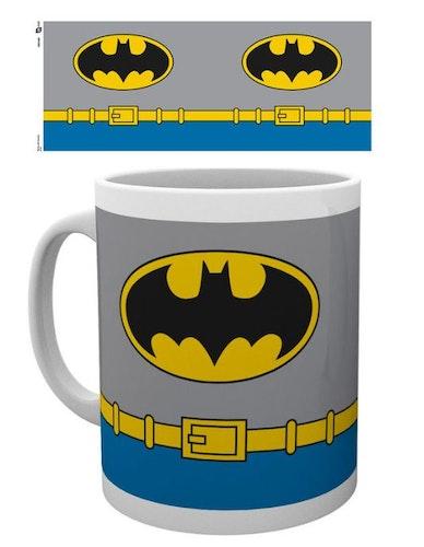 Mugg Batman kostym
