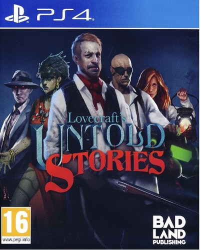 Lovecrafts Untold Stories PS4