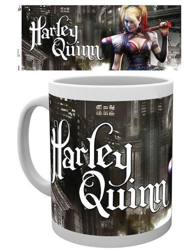 Mugg Harley Quinn Arkham Knight Gotham