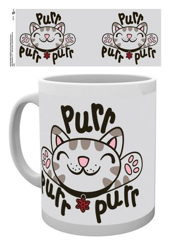 Mugg The Big Bang Theory Katt, purr, purr, purr