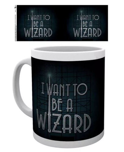 Mugg Fantastic Beasts I want to be a wizard