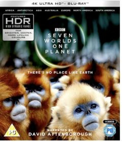 David Attenborough - Seven Worlds, One Planet 4K Ultra HD + Bluray (import)