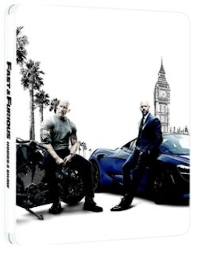 Fast & Furious Presents: Hobbs & Shaw – Limited Edition 4K Steelbook (Includes 2D Blu-ray) (import)