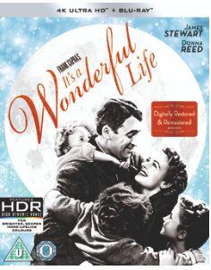 It's a Wonderful Life 4K Ultra HD + Blu-Ray (import) från 1946