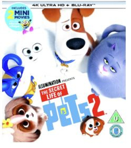 Husdjurens hemliga liv 2 4K Ultra HD + Blu-Ray (import)