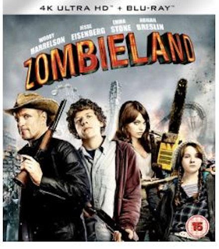 Zombieland 4K Ultra HD + Blu-Ray (import)