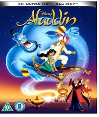 Aladdin (tecknad) 4K Ultra HD (import)
