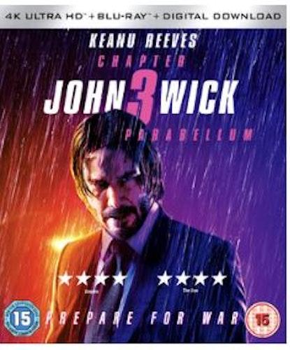 John Wick Chapter 3 - Parabellum 4K Ultra HD + Blu-Ray (import)