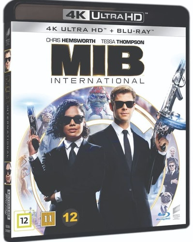 Men in black international 4K UHD bluray
