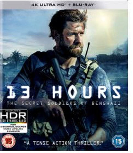 13 Hours - The Secret Soldiers of Benghazi 4K Ultra HD + Blu-Ray (import)