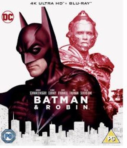 Batman & Robin 4K Ultra HD (svensk utgåva)