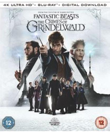 Fantastiska Vidunder: Grindelwalds Brott 4k UHD bluray (import)