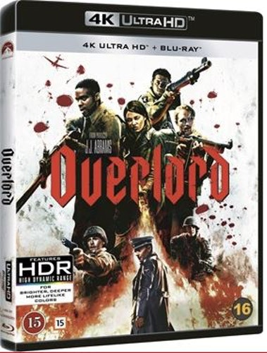 Overlord 4K UHD bluray