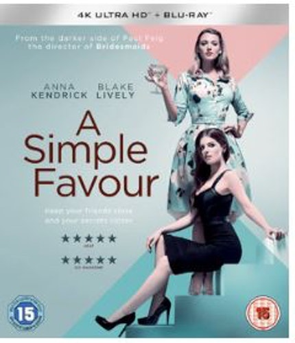 A Simple Favour 4K Ultra HD + Blu-Ray (import)