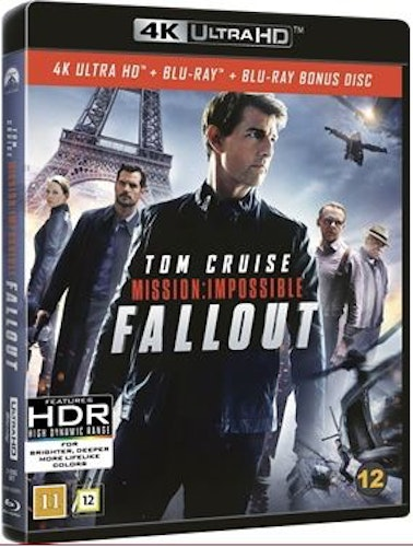 Mission Impossible 6 - Fallout 4K Ultra HD + Blu-Ray