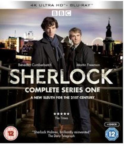 Sherlock Series 1 4K Ultra HD (import)