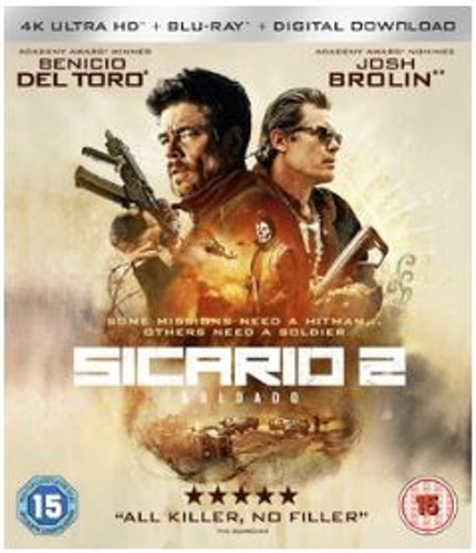 Sicario 2 - Soldado 4K Ultra HD + Blu-Ray  (import)