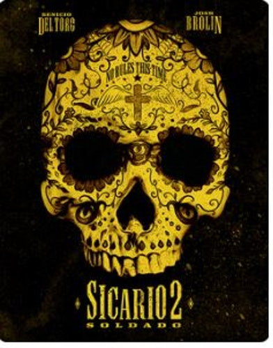 Sicario 2 - Soldado Steelbook 4K Ultra HD + Blu-Ray (import)
