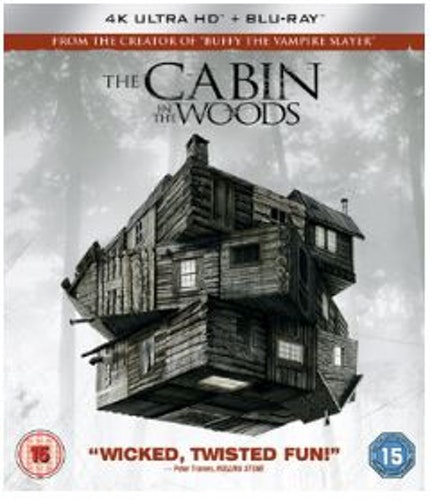 The Cabin in the Woods 4K Ultra HD + Blu-Ray (import)