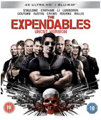 The Expendables 4K Ultra HD + Blu-Ray (import)