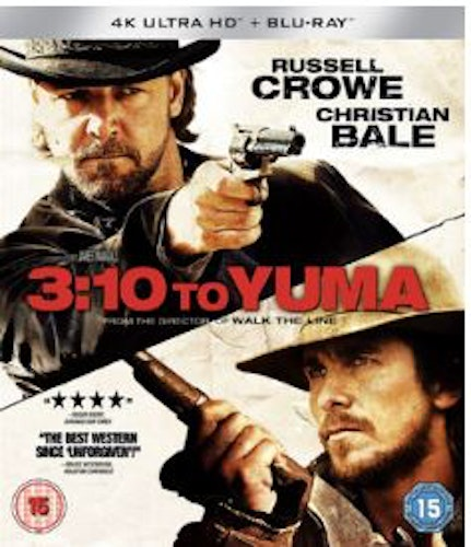 3:10 to Yuma 4K Ultra HD + Blu-Ray (import)