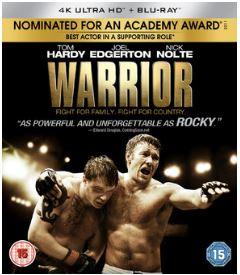 Warrior 4K Ultra HD + Blu-Ray (import)