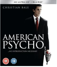 American Psycho 4K Ultra HD + Blu-Ray (import)